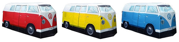 VW Camper Van tent colours