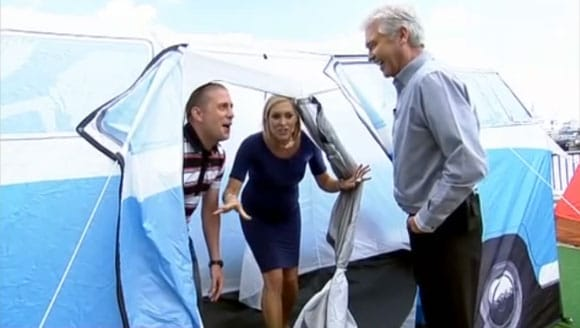 VW Campervan tent as seen on This Morning