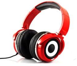 Zumreed Headphones in Red