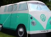 VW Camper Van Tent Peppermint Green