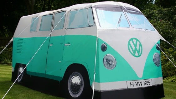 VW Camper Van Tent Peppermint Green