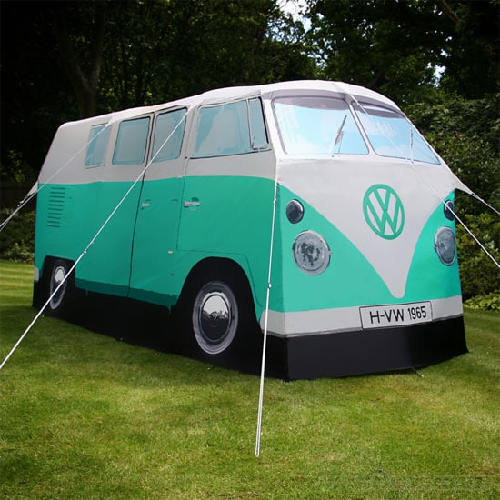 VW Campervan tent in peppermint