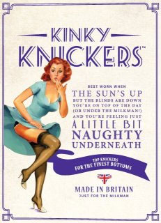 Kinky Knickers packaging