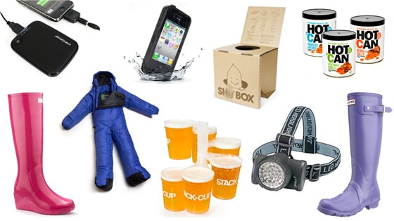 camping festival gadgets