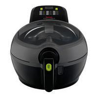 TEFAL GH840040 ActiFry Plus Fryer – Black, Black