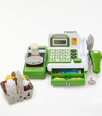 John Lewis & Partners Waitrose Cash Register